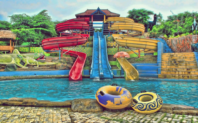 Tempat Wisata Jembar Water Park