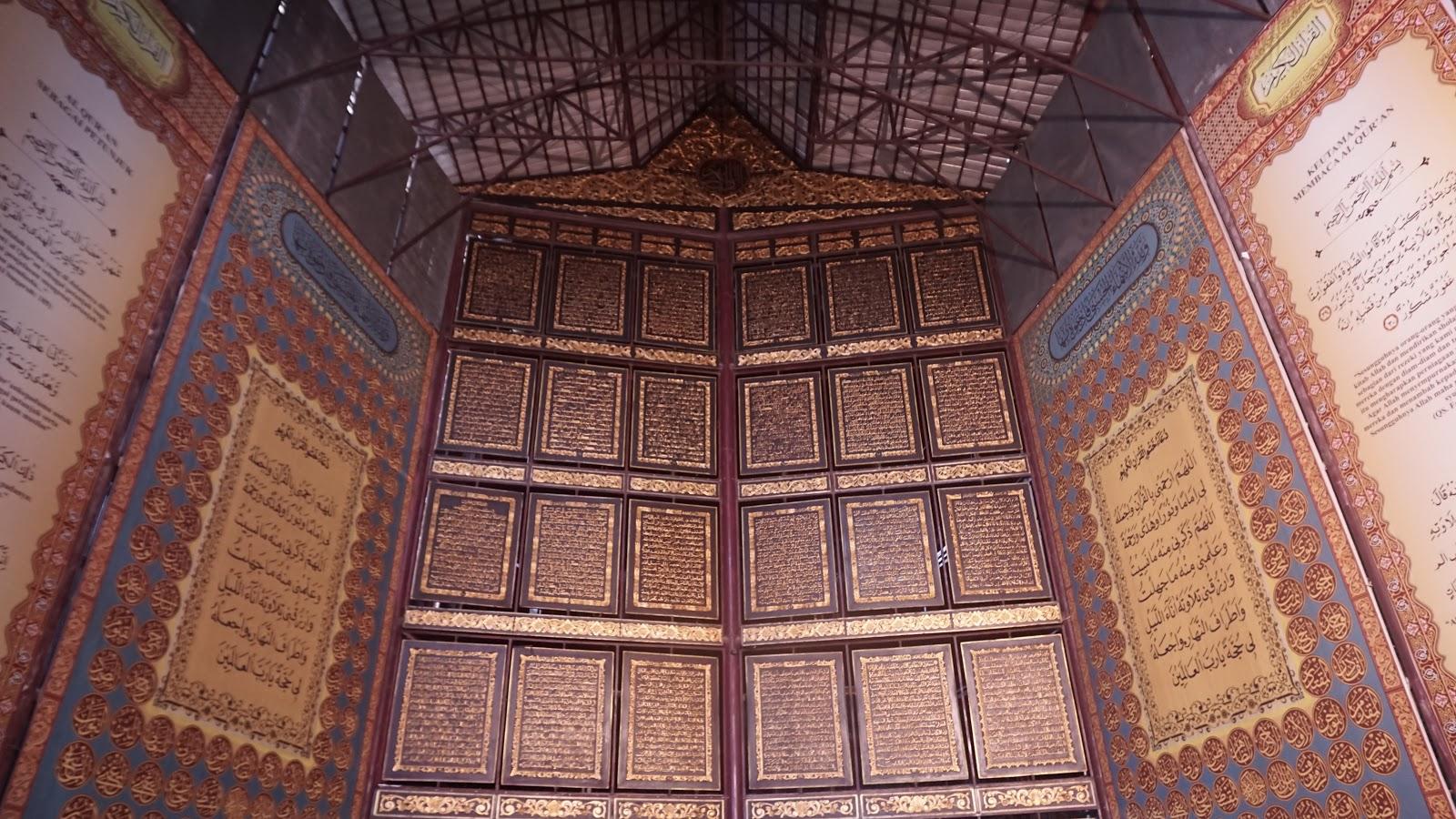 Yang Perlu Kamu Tahu tentang Wisata Religi Al-qur'an Raksasa