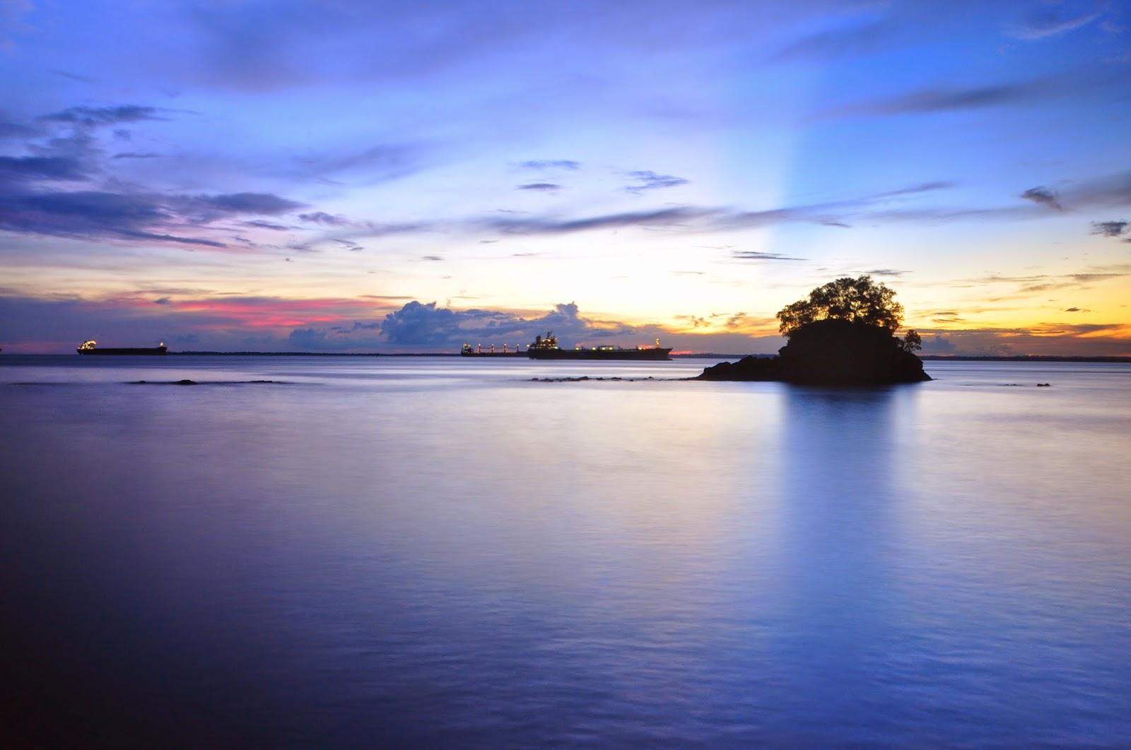 Wisata Pantai Melawai