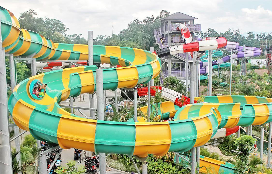 Objek Wisata Palm Bay Water Park