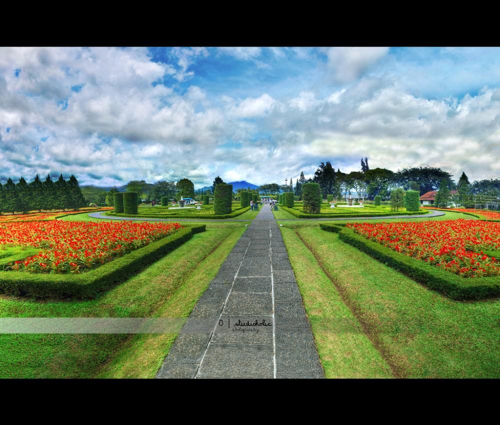 Keindahan Nusantara Flower Garden di Cianjur