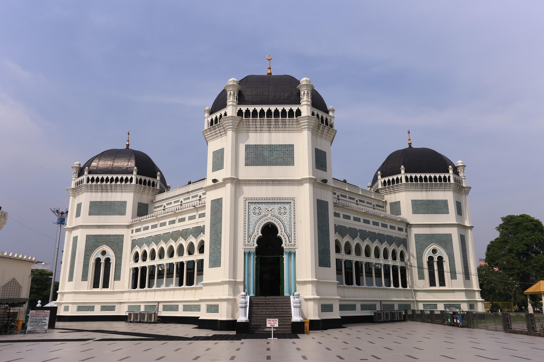 Tempat Wisata Masjid Agung Sumatera Utara , Kota Medan
