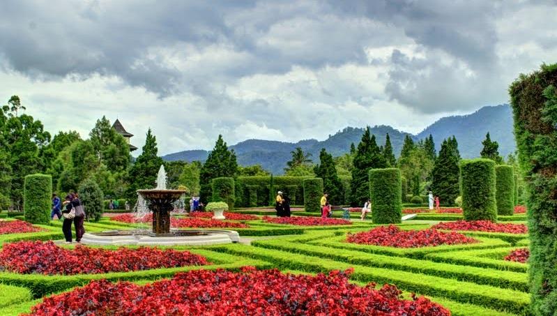 Keindahan Taman Wiladatika