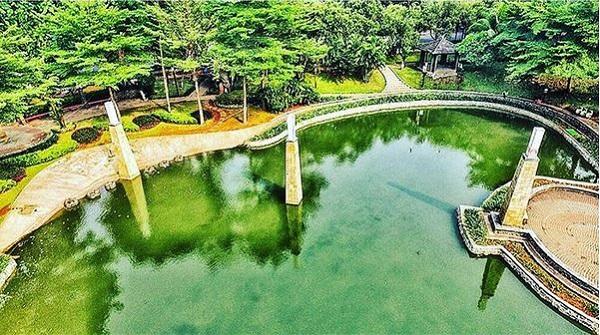 Taman Ayodya di Kota Administrasi Jakarta Selatan Semakin Mempesona